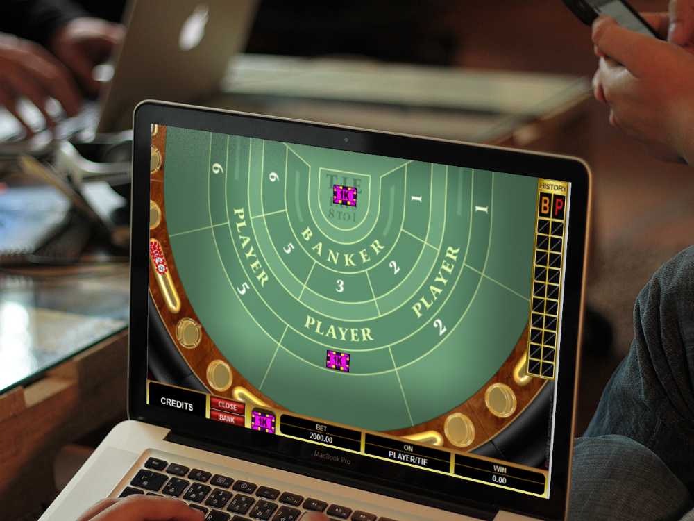 Microgaming baccarat rules via Macbook Pro